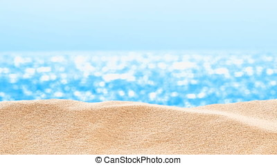 On the Beach / By the Sea - sand dune in front of beautiful...