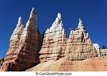 famous Navajo Trail in Bryce Canyon