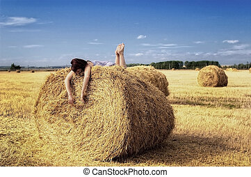 On the haystack