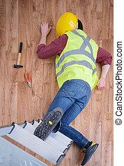 On the job injury