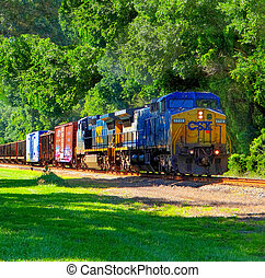 freight train in florida