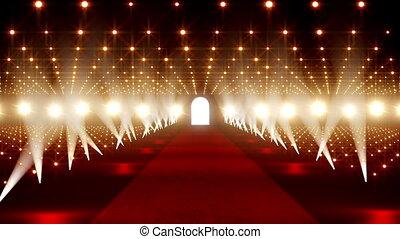 On The Red Carpet 04 - Red Carpet festival scene animation