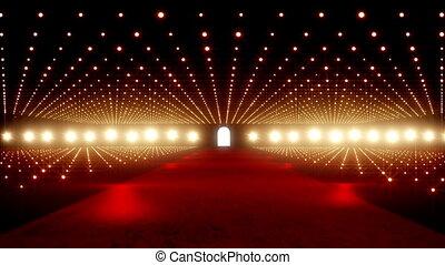 On The Red Carpet 05 - Red Carpet festival scene animation