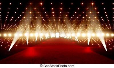 On The Red Carpet 06 - Red Carpet festival scene animation
