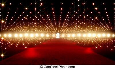 On The Red Carpet 12 - Red Carpet festival scene animation