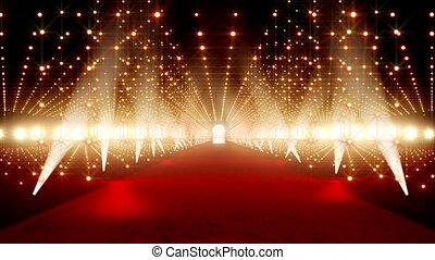 On The Red Carpet 13 - Red Carpet festival scene animation