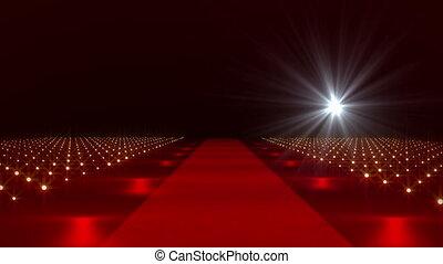 On The Red Carpet 23 flashes - Red Carpet festival scene...