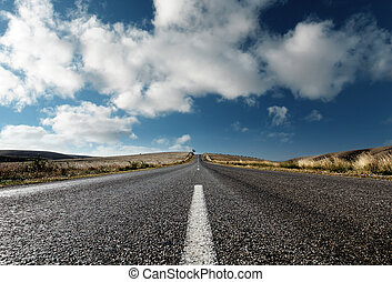 On the Road Again - A Country Road in South Australia