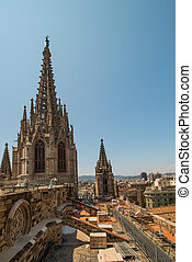 roof of cathedral
