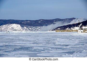 Lake Baikal - on the shores of Lake Baikal