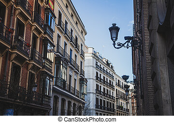 On the streets of Madrid