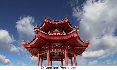 On the territory Giant Wild Goose Pagoda or Big Wild Goose...