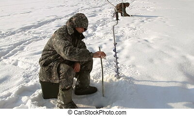 On winter fishing