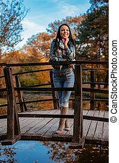 On Wooden Bridge