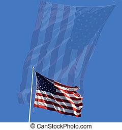 onafhankelijkheid dag, vlag