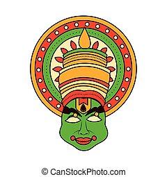 onam, εορτασμόs , σχεδιάζω , kathakali