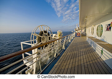 Onboard cruise ship