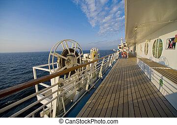 onboard, hajó cruise