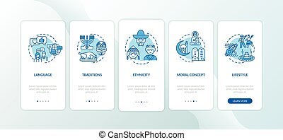 onboarding, app, mobile, concepts, traditions, culturel, ...