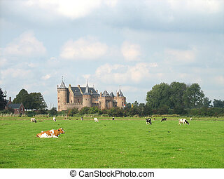 Once upon a time there was a castle in Holland.