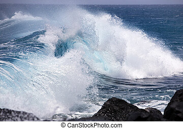 onda océano