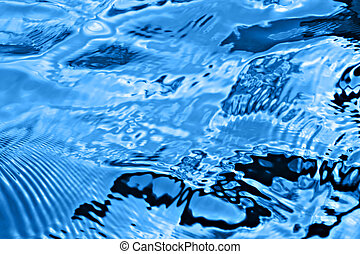ondas azuis
