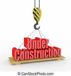onder, construction., 3d