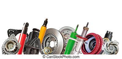 onderdelen, auto
