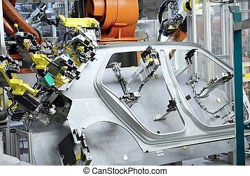 onderdelen, voor, een, nieuw, auto's