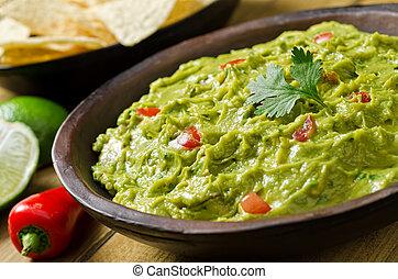 onderdompeling, guacamole
