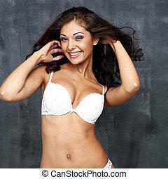 ondergoed, sexy, model