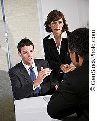onderhandeling, zakelijk