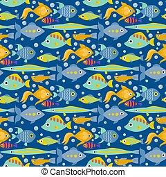 onderwater, aquatische dieren, karakters, natuur, aanhalen,...