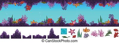 onderwater, grot