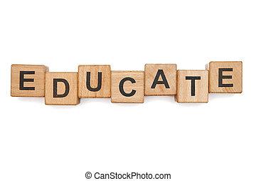 onderwijs, blokjes