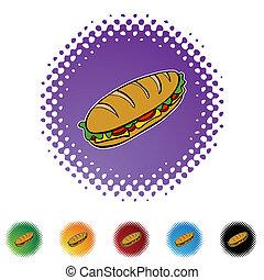 onderzeeboot sandwich