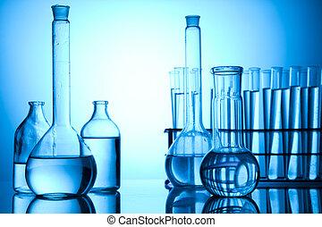 onderzoek, en, experimenten