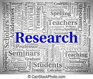 onderzoek, woord, middelen, bijeenkomst, data, en, analyse