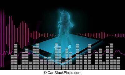 ondes sonores, danse