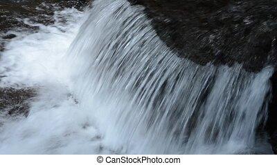 ondiep, kleine, cascade