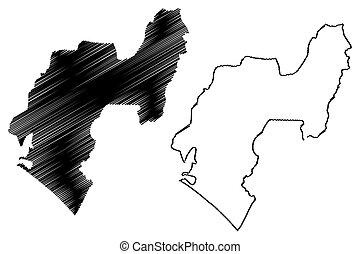 Ondo State map