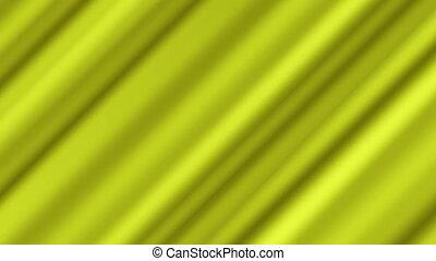 ondulé, fond jaune, tordu, 4k, résumé
