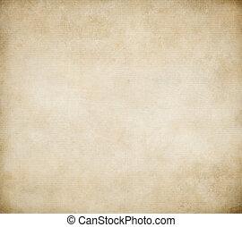 ondulé, grunge, cannelé, papier, fond, ou