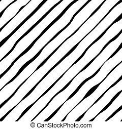 ondulé, résumé,  diagonal, Raies, fond, vecteur