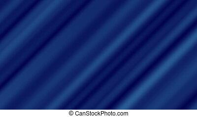 ondulé, tordu, résumé, 4k, fond, bleu