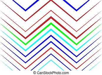 ondulé, zigzag, fond, texture, lignes, résumé, géométrique, ...
