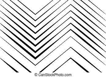 ondulé, zigzag, monochrome, fond, lignes, texture, résumé, ...