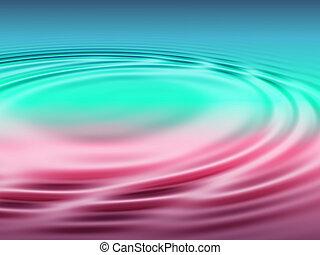 ondulações lagoa