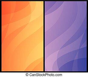 ondulado, jogo, coloridos, vertical, abstratos, eps10., fundos, padrão, vetorial, ilustrações