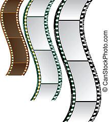 ondulado, película